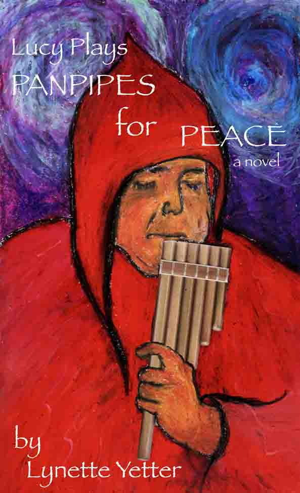 Cover                       Art, Lucy Plays Panpipes for Peace